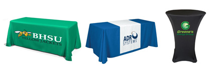 Logo Printed Table Cloths