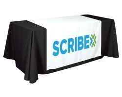 printed logo table runners