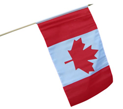 hand waver flags canada