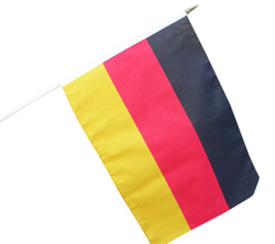 hand waver flags germany