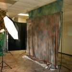 Studio backdrops photography