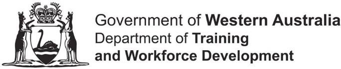 Government of Western Australia Dept of Training & Workforce Development