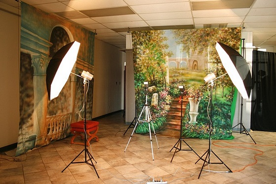 Backdrop material photography
