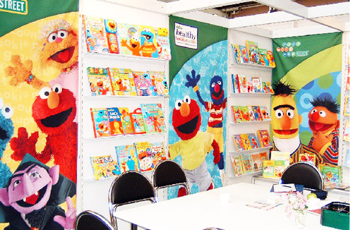 large exhibition banners