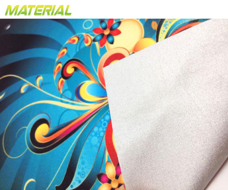 Printed fabric material