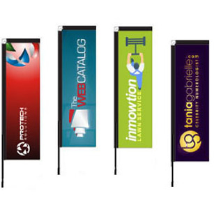 Custom Block Flags for Sale